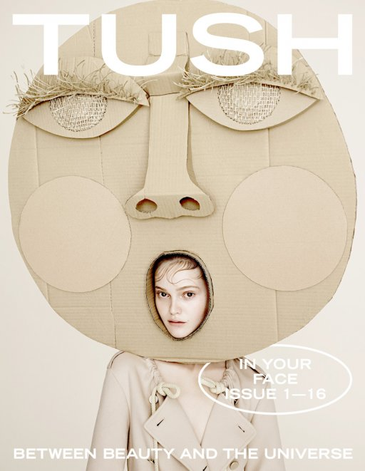 TUSH MAGAZINE COVER 01/16