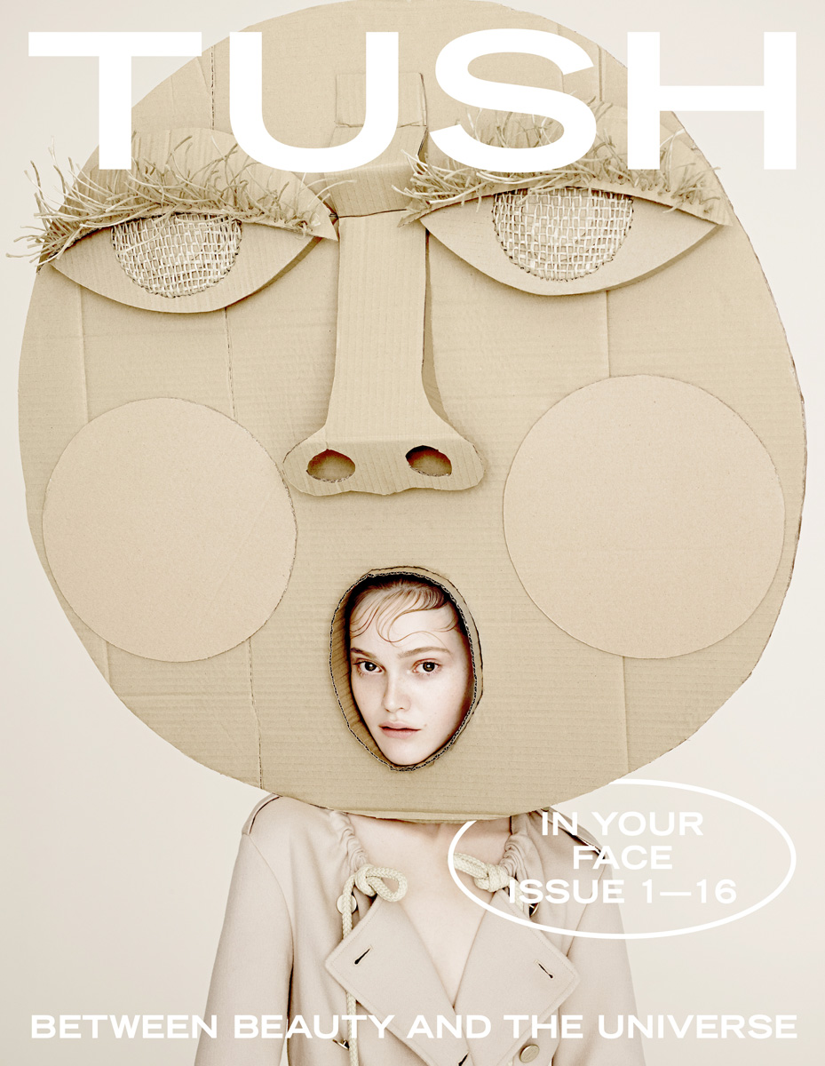 TUSH MAGAZINE COVER 01/16 ARMIN MORBACH
